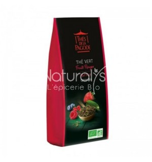 THE VERT FRUITS ROUGES - 100 GR