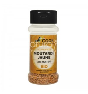 MOUTARDE JAUNE EN GRAINES - 60 GR