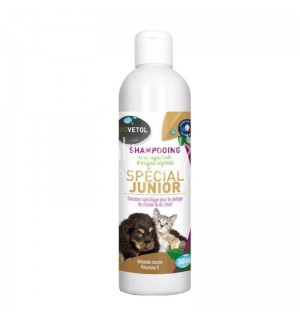 SHAMPOING JUNIOR POUR CHIOT ET CHATON - 240 ML