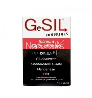 GESIL SILICIUM GLUCO-CHONDRO - 30 COMPRMES