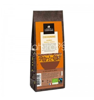 ROOIBOS COCOONING HIBISCUS POMME - 100 GR