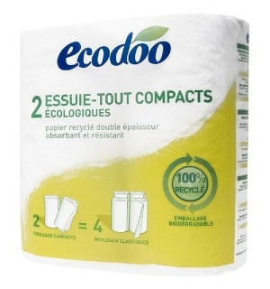ESSUIE-TOUT COMPACT RECYCLE - 2 ROULEAUX