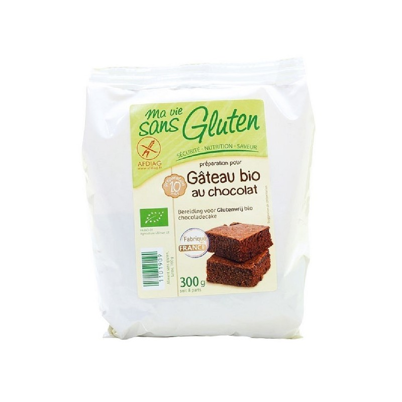 PREPARATION GATEAU CHOCOLAT - 300 GR
