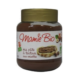 PATE A TARTINER CHOCOLAT NOISETTES - 350 GR