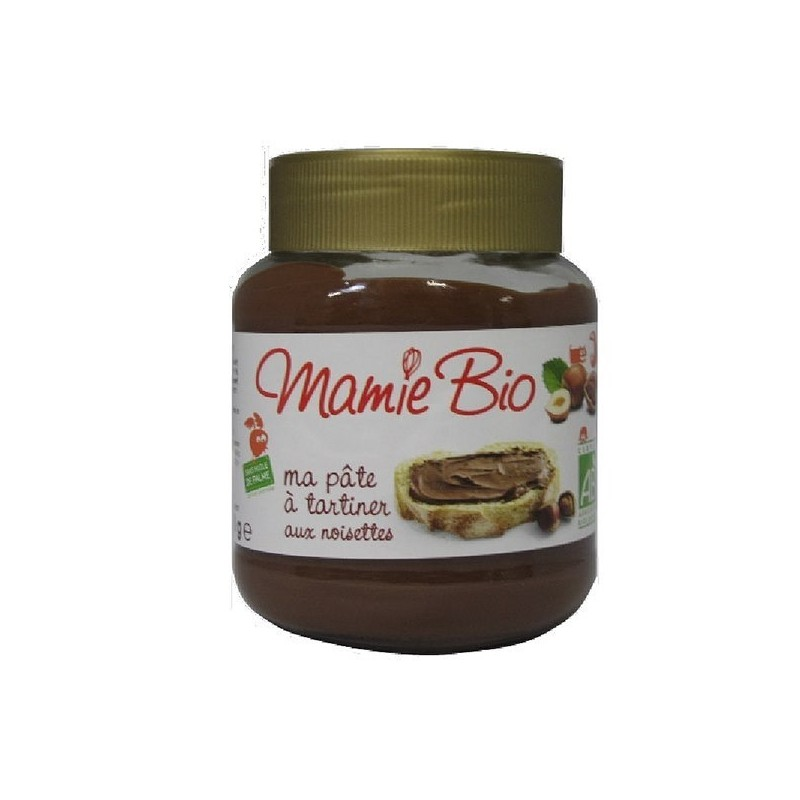 PATE A TARTINER NOISETTES ET CACAO - 350 GR