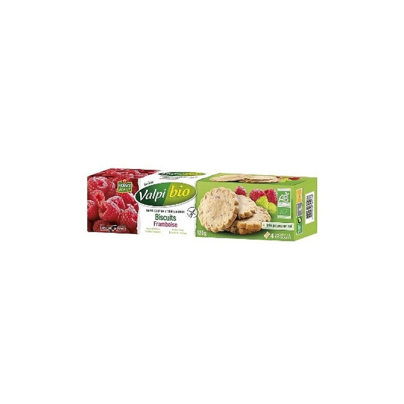 BISCUITS FRAMBOISE - 120 GR