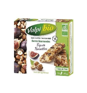 BARRE CEREALE FIGUES NOISETTES - 90 GR