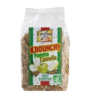 KROUNCHY POMME CANNELLE - 500 GR