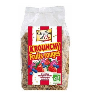 KROUNCHY FRUITS ROUGES - 500 GR
