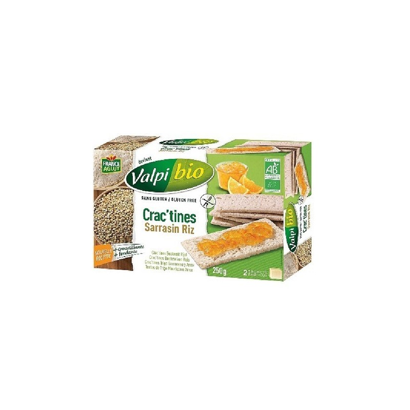 CRACTINE RIZ SARRASIN - 250 GR