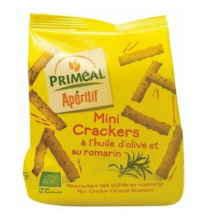 MINI CRACKERS OLIVE ROMARIN - 100 GR