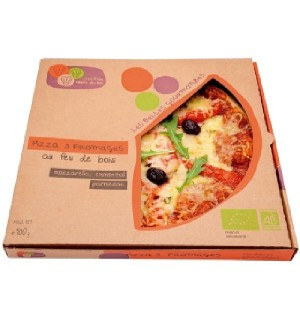 PIZZA 3 FROMAGES - 400 GR