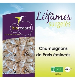 CHAMPIGNON DE PARIS EMINCES-  600 GR