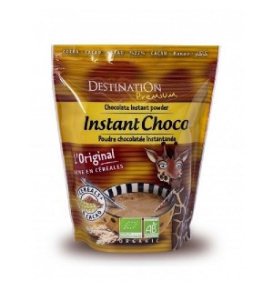 CHOCOLAT INSTANTANE CACAOTE 32% + CEREALES - 400 GR