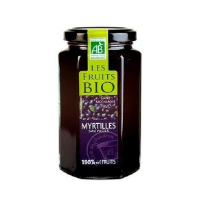 PREPARATION 100% FRUITS  MYRTILLE - 300 GR