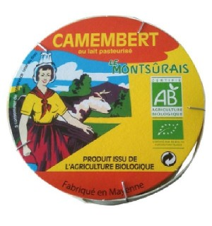 CAMEMBERT 20 % MG/PF  - 250 GR