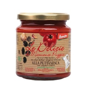 SAUCE TOMATE PUTTANESCA - 300 GR