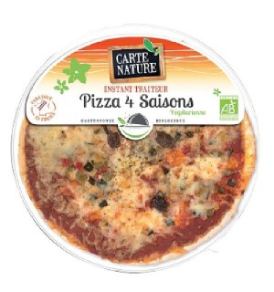 PIZZA 4 SAISONS - 400 GR