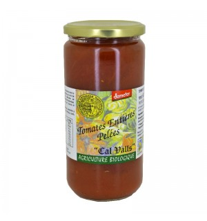 TOMATES ENTIERES PELEES 400 GR