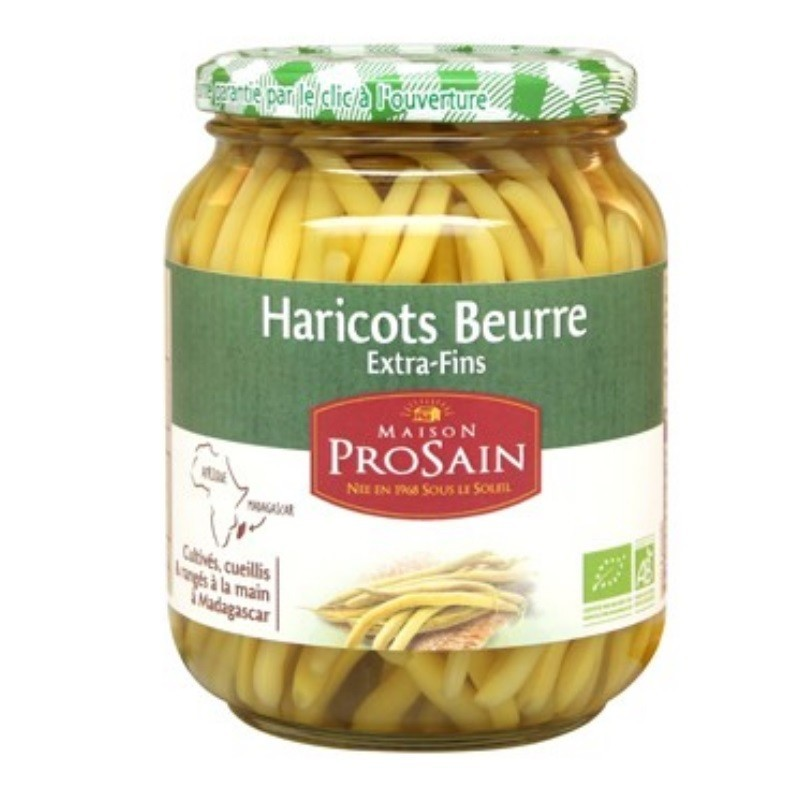HARICOTS BEURRE EXTRA FINS 660 GR