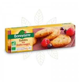 SABLES AUX FRUITS ROUGES - 150 GR