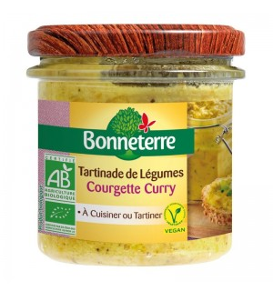 TARTINADE COURGETTE CURRY - 135 GR