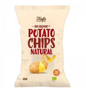 CHIPS NATURE SALEES - 125 GR
