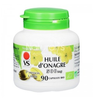 HUILE D'ONAGRE 500 MG - 90 CAPSULES