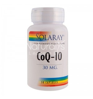 CO Q10 30 MG - 30 CAPSULES VEGETALES