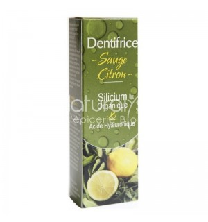 DENTIFRICE SAUGE CITRON - 50 ML