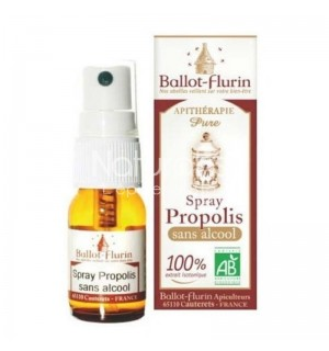 SPRAY PROPOLIS SANS ALCOOL - 15 ML