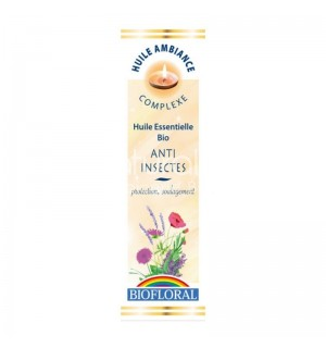HUILE D'AMBIANCE ANTI INSECTES - 10 ML