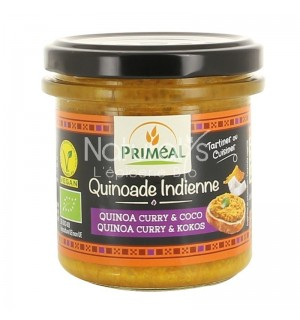 QUINOADE INDIENNE QUINOA CURRY COCO - 140 GR