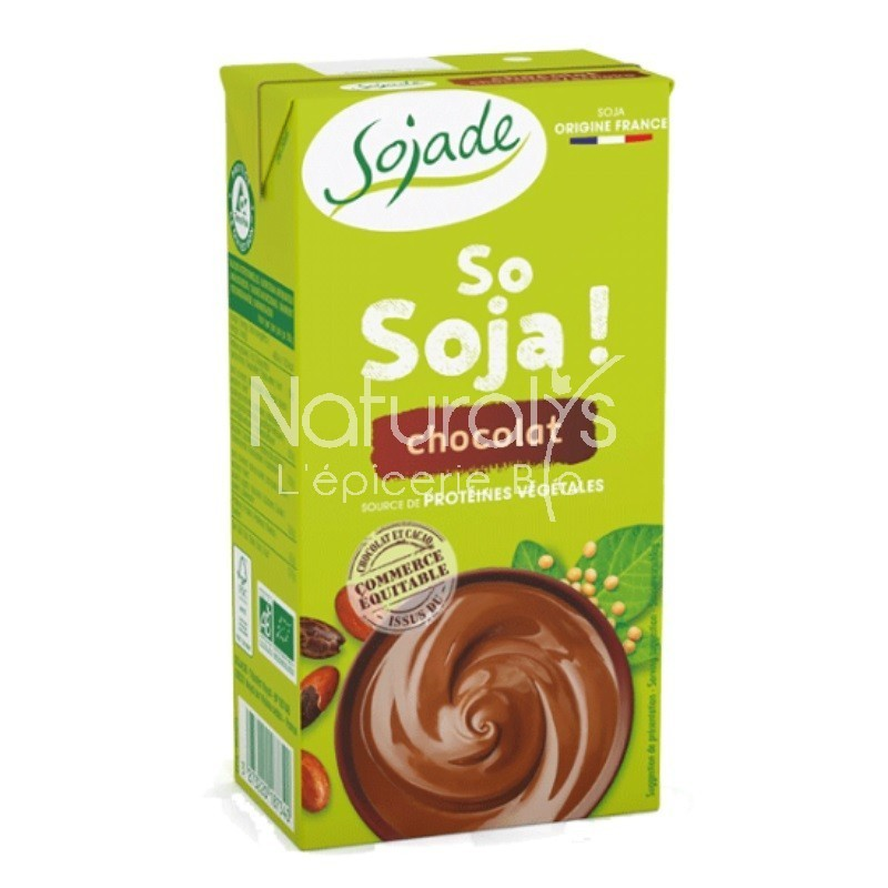 SO SOJA CHOCOLAT UHT VEGAN - 530 GR