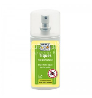 REPULSIF ANTI TIQUES CUTANE - SPRAY 100 ML