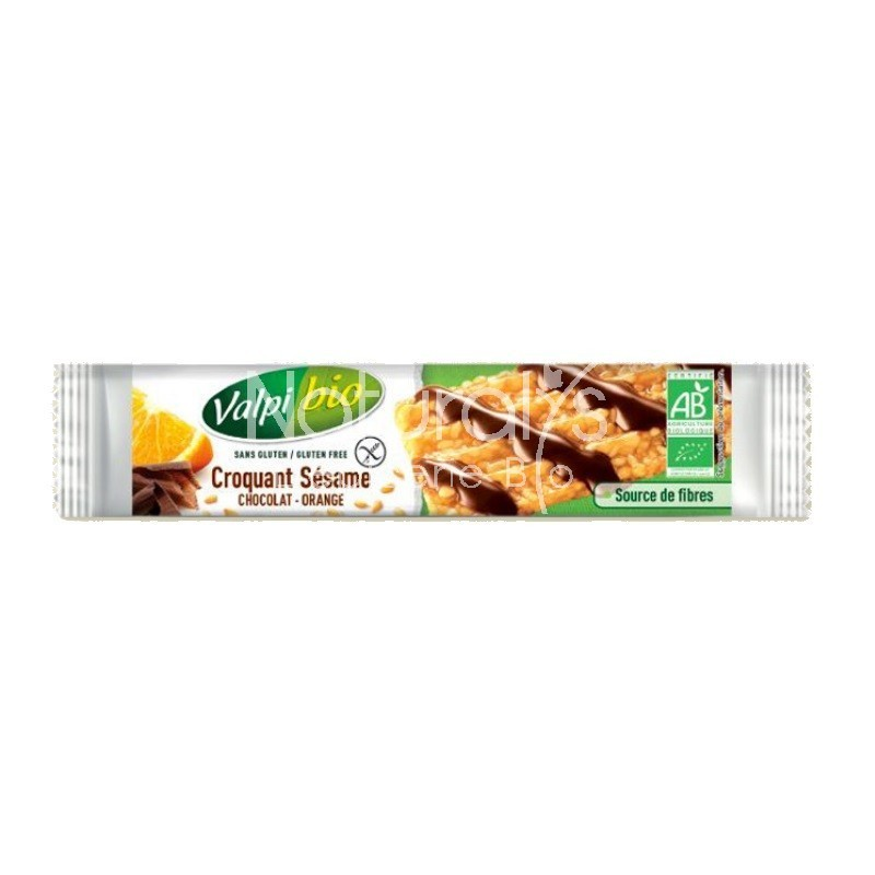 CROQUANT SESAME CHOCOLAT ORANGE - 33 GR