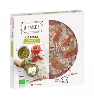 PIZZA TOMATE MOZZARELLA PESTO - 400 GR