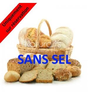 PAIN SANS SEL DE SEIGLE - 500 GR