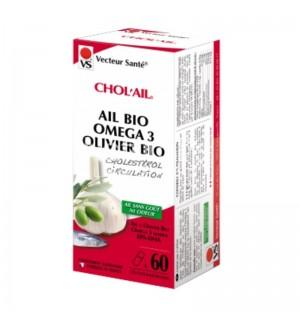 CHOC'AIL : AIL OMEGA 3 OLIVIER - 60 CAPSULES