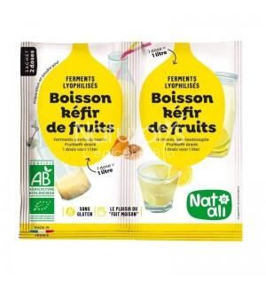 FERMENTS POUR BOISSON KEFIR DE FRUITS  - 2 X 5 GR