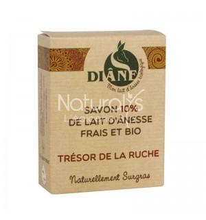 SAVON LAIT D'ANESSE TRESOR DE LA RUCHE - 100 GR