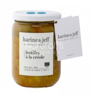LENTILLES A LA CREOLE - 500 GR