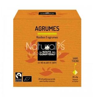ROOIBOS 5 AGRUMES - 20 X 1.5 GR