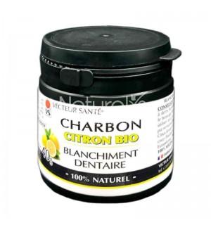 CHARBON POUDRE DENTAIRE AU CITRON - 40 GR