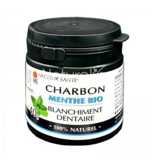 CHARBON POUDRE DENTAIRE A LA MENTHE - 40 GR