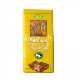 TABLETTE CHOCOLAT NIRWANA FOURRE PRALINE - 100 GR