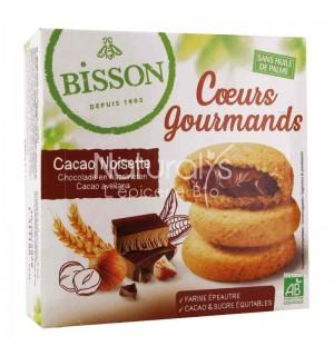 COEURS GOURMANDS CACAO NOISETTE - 180 GR