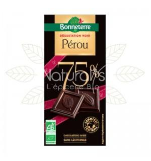 TABLETTE DEGUSTATION CHOCOLAT PEROU - 80 GR