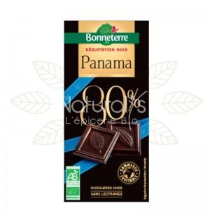 TABLETTE CHOCOLAT NOIR DU PANAMA - 80 GR