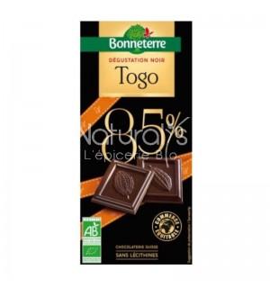 TABLETTE DEGUSTATION CHOCOLAT TOGO - 80 GR